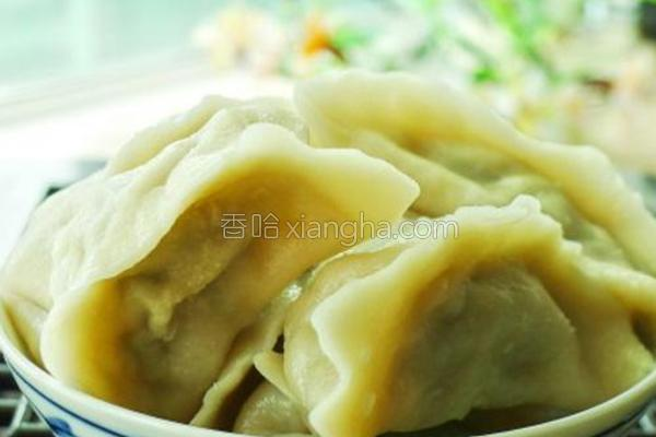 牛肉芹菜饺子的做法