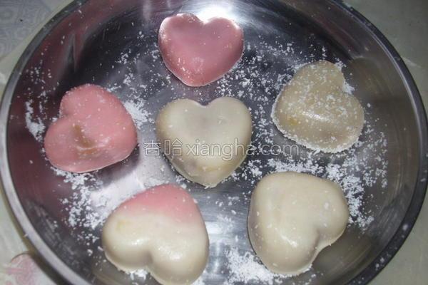 红酒豆蓉冰皮月饼的做法