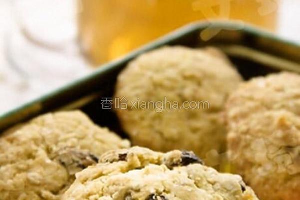 燕麦提子饼干的做法