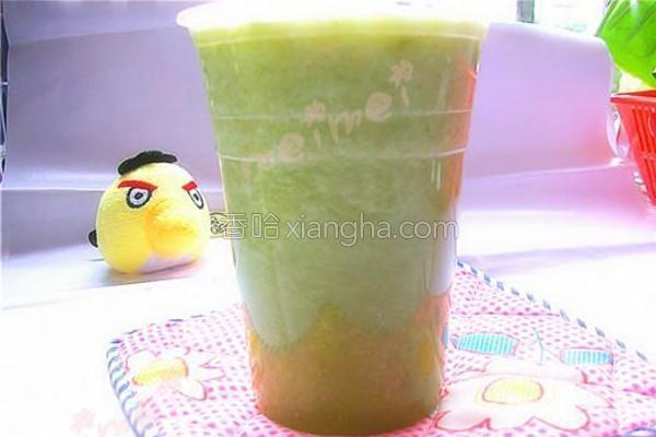 黄瓜芹菜汁的做法
