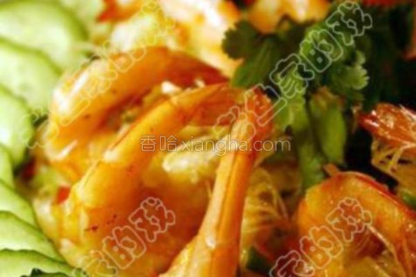 香脆飞燕虾的做法