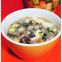 海蠣豆腐湯的做法[圖]