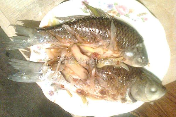 清蒸豆瓣酱鱼