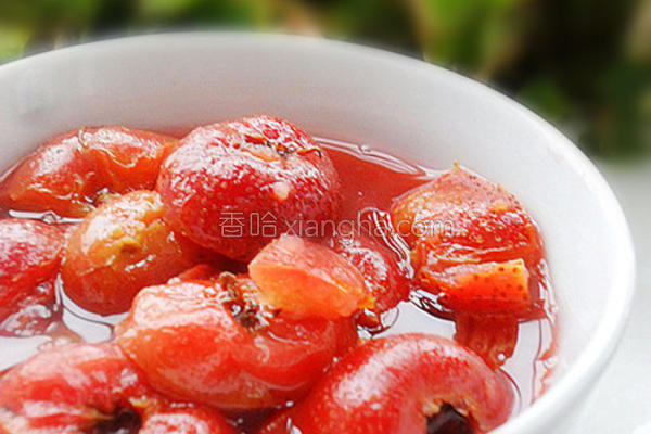 炒红果的做法