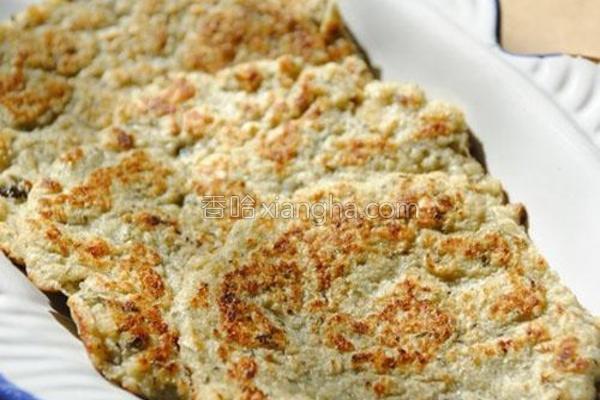 豆渣燕麦饼的做法