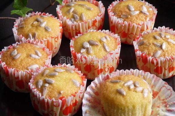 香瓜子杏仁蛋糕