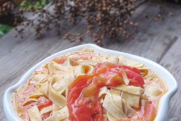 西红柿炒千张