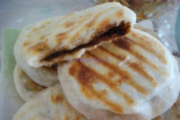 山核桃仁红糖饼