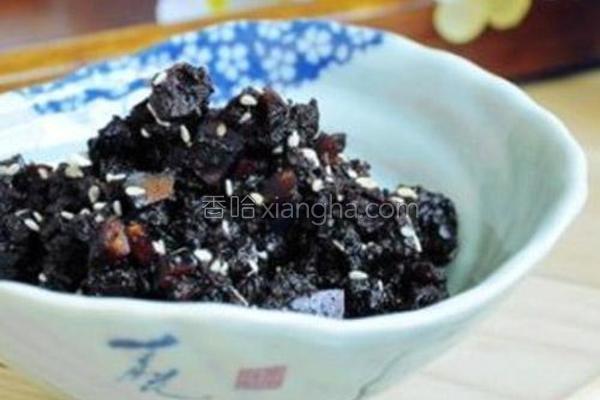 豆豉香菇肉末酱的做法