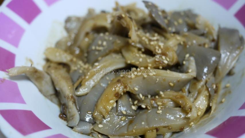 韩式大酱拌平菇