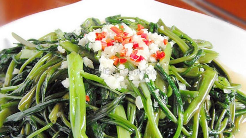 蒜茸空心菜