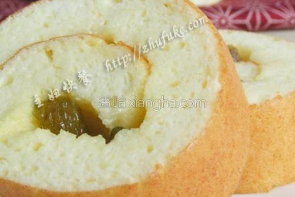 葡萄酸奶蛋糕卷的做法