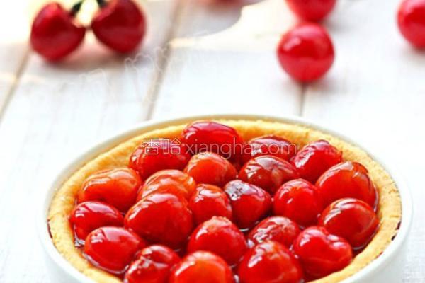 蜜汁樱桃派的做法