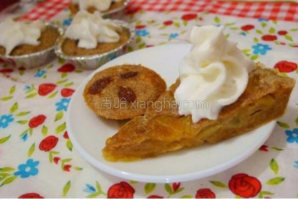 全麦苹果蛋糕的做法