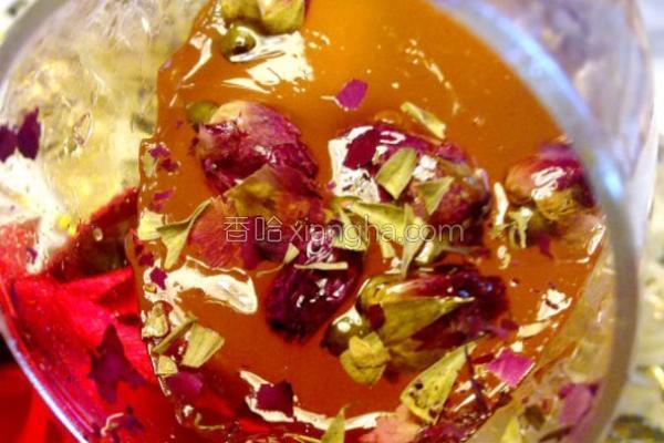 玫瑰水晶杯的做法