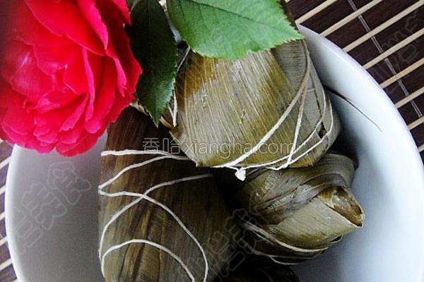 蜜枣粽的做法
