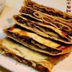 洋蔥牛肉千層餅的做法[圖]