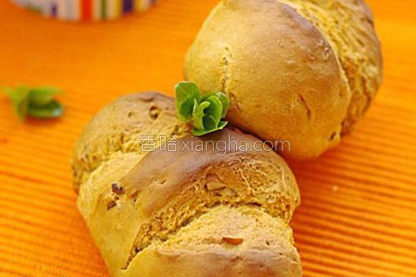 核桃酸奶苏打面包的做法