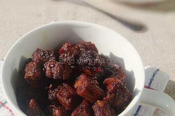 酱香牛肉干的做法