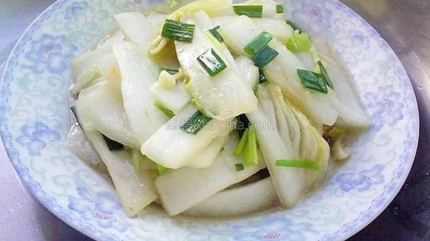 葱香大白菜
