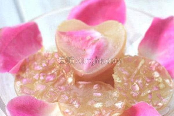 水晶玫瑰胶原蛋白冻的做法