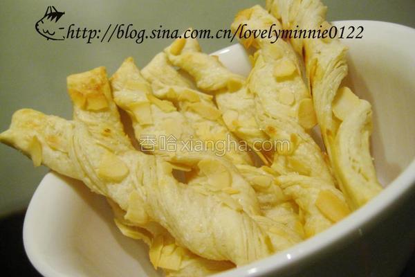 杏仁酥条的做法