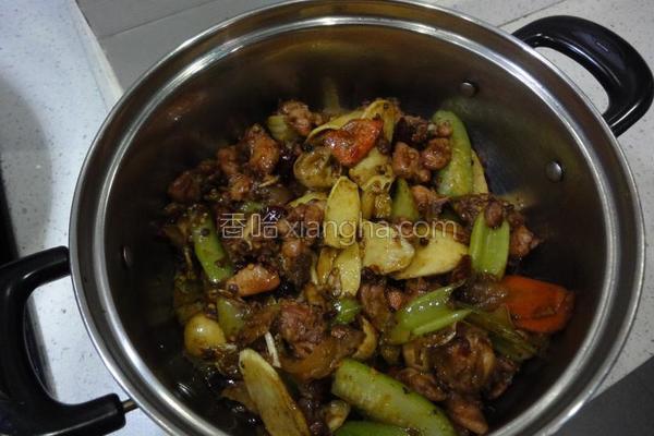 干锅香辣兔的做法