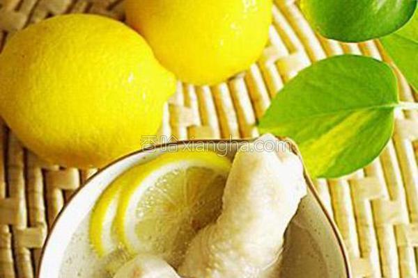 柠檬鸡的做法