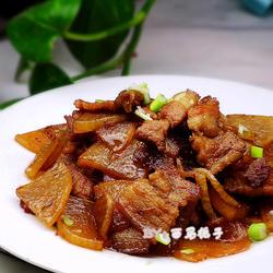 蘿卜燒五花肉的做法[圖]