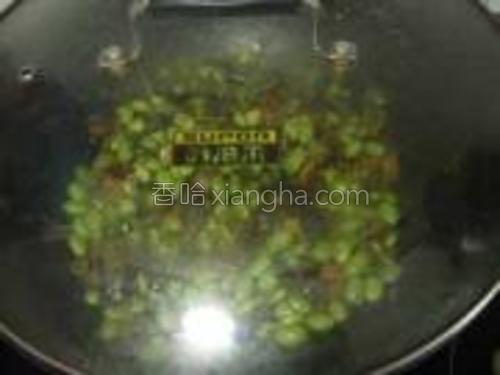 盖盖略煮1-3分钟。