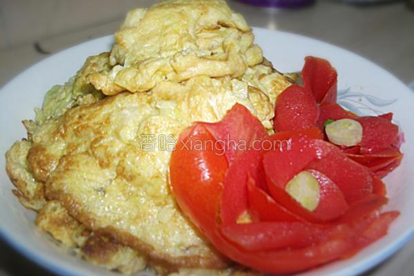 韭菜花煎蛋的做法