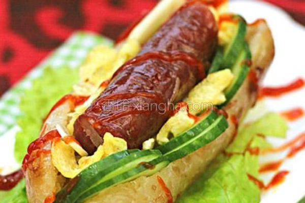台湾大肠包小肠的做法