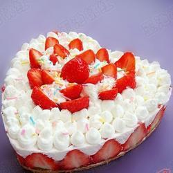 DIY奶油草莓蛋糕的做法[圖]
