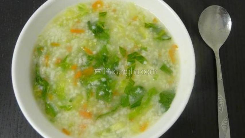 简单蔬菜粥