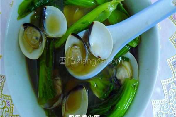 蛤蜊芥菜鸡汤的做法