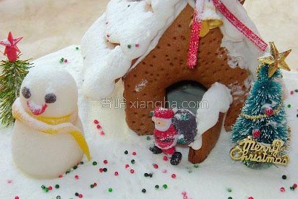 圣诞蛋糕的做法