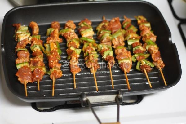 家庭烤肉串的做法