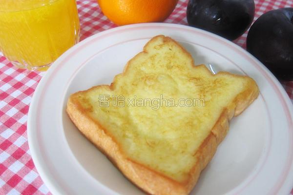 法式橙味吐司的做法