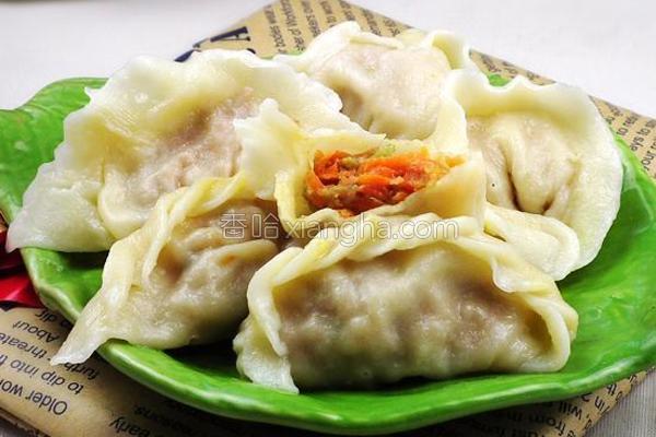 猪肉胡萝卜水饺