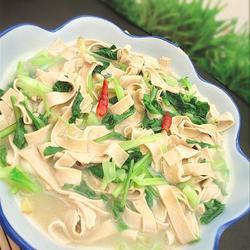 千张烧青菜的做法[图]