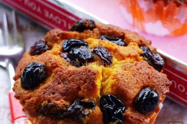 焦糖葡萄干蛋糕的做法