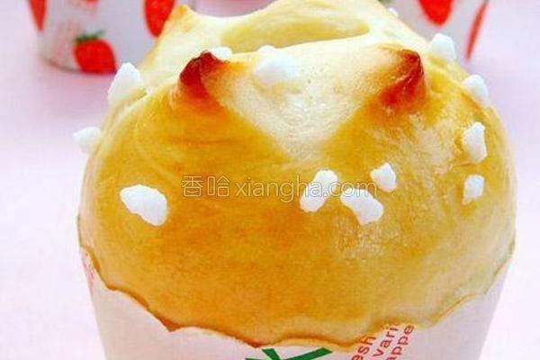 蜂蜜珍珠糖面包的做法