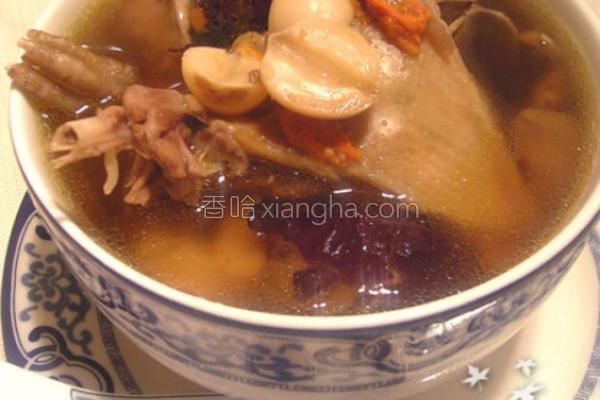 莲枣乳鸽汤的做法