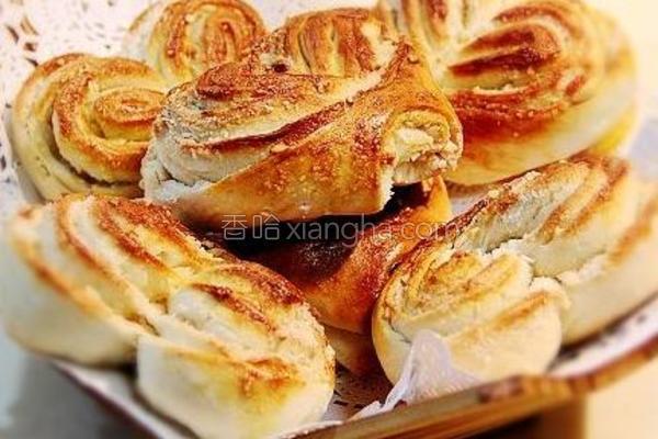 花生蝴蝶小饼的做法