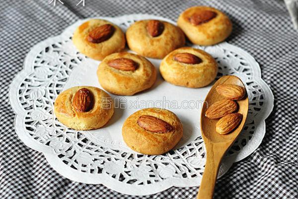 杏仁小酥饼的做法