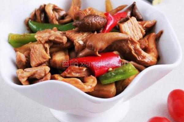 真姬菇烧肉的做法