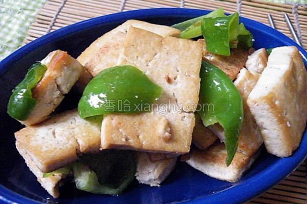 家常炒豆腐的做法