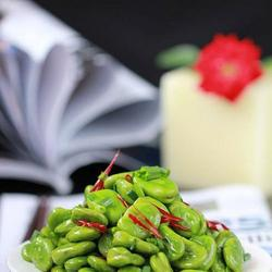 香葱爆蚕豆的做法[图]