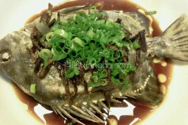 清蒸金古魚