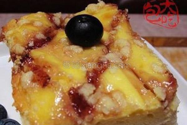 奶酪蓝莓蛋糕的做法